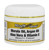 Mason Natural - Beauty Cream Marula Oil, Argan Oil, Aloe Vera and Vitamin E - 60ml
