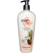 Natural Hand & Body Lotion, Caribbean Heat, 12 fl oz (350 ml) - Pure & Basic