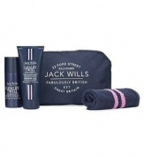 Jack Wills Fabulously British ~ Cavalry Twill Body Spray ~ Body Wash ~ Mens Wash Bag