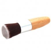 Linkings Makeup Flat Top Brush Foundation Powder Wooden Handle Makeup Tools