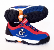 GRYPHON Viper (Blue/Red) Hockey Shoes - Junior UK Size 13 / EU 32