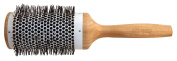 Bamboo Line Ceramic Brush Nylon Bristles 58 mm Round Blow Dry Brush Nylon