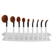 Fortan 9Pcs Makeup Cosmetic Foundation Powder Brushes