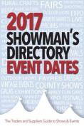 2017 Showman's Directory Event Dates