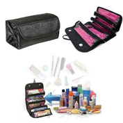 Olym Store Women Multifunction Travel Cosmetic Bag Makeup Case Pouch Toiletry Cosmetic Organiser