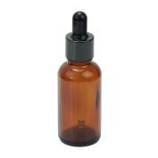 Homgaty 50ml Empty Glass Essence Oil Bottle With Glass Eye Dropper suitable for Aromatherapy Eye Ear Dropper