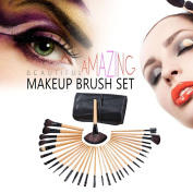 Makeup Brushes Set/ Kit, AiSi 32 Pieces Cosmetic Brushes Fundation Eyeshadow Brushes Lip Powder Eyebrow Brush With Pouch