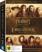 The Hobbit Trilogy and The Lord of the Rings Trilogy [Region 4]