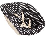 Ukje textile set for newborn set Stokke - black dots