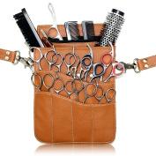 Hairdressing Scissor Holster Pouch Bag Kassaki Tan