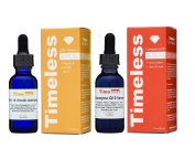 20% Vitamin C+E Ferulic Acid & Coenzyme w/ Matrixyl 3000 Serums by Timeless Skin Care - 1 of Each (1oz / 30ml size) - Authorised UK seller - Fresh, Brand New & Sealed