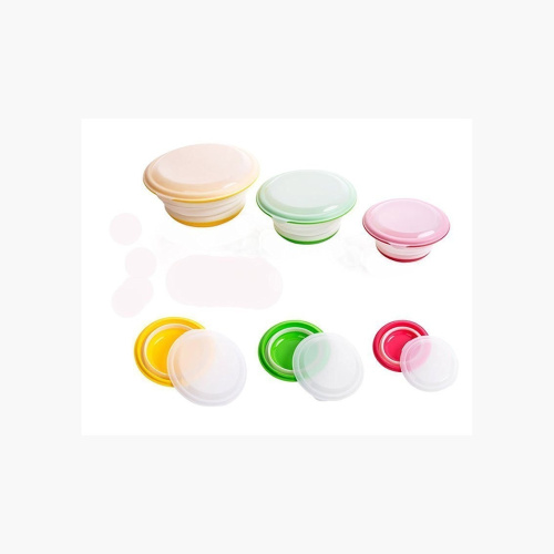 Rykey Flat Stacks Collapsible Food Storage Containers