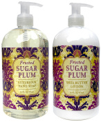 Greenwich Bay Thanksgiving - Christmas Scents Hand and Body Lotion and Hand Soap Duo Set 470ml each
