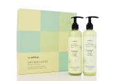 MIAPPEAL Daily Body Care Set Body lotion & Body Wash & Shower Ball Naturally derived Ingredients from Jeju Korea