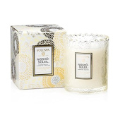 Voluspa Nissho Soleil Boxed Scalloped Edge Glass Candle Limited 180ml