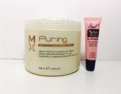 MX Puring Restructuring Garlic Cream 16.9oz/500mlFree Starry Sexy Lip Plumping Gloss 10ml