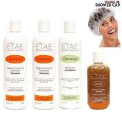 Etae Carmelux Shampoo, Conditioner, E'tae Carmel Treatment w/ Extra Item