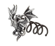 Alchemy Gothic Smoke Dragon Hair Screw