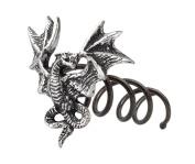 Alchemy Gothic Smoke Dragon Hair Screw