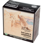 Light Mountain, Natural Hair Colour & Conditioner, Chestnut, 120ml (113 g) - 2pc