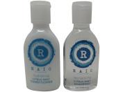 Raio Citrus Mint Shampoo & Conditioner lot of 16 bottles