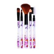 Baomabao 5Pcs/set Concealer Brushes Powder Blush Cosmetic Makeup Brush Set Tool