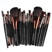 Baomabao 22pc Cosmetic Makeup Brush Blusher Eye Shadow Brushes Set Kit Gold