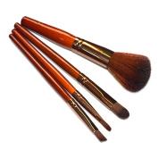 Baomabao 4PCS Cosmetics Tools Kit Powder Eyeshadow Makeup Brushes Set