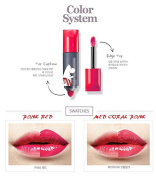L Double Lipquid (Coral-pink)