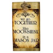 Lillie May Naturals Moonshine in a Mason Jar Cherry Almond Organic Goat Milk Soap