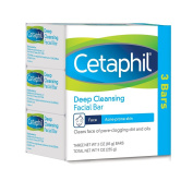 Cetaphil Deep Cleansing Facial Bar for Acne-Prone Skin, 270ml