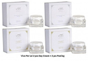 Vivo Per Lei 2 Pcs. Day Cream & 2 Pcs. Facial Peeling by Vivo Per Lei