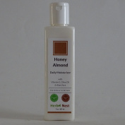 Honey Almond Daily Day and Night Face Herbal Moisturiser. An ultra rich face & skin moisturiser for normal & dry skin - 210ml