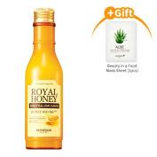 Skinfood Royal Honey Essential Emulsion 5.41oz(160ml) + Masksheet 1