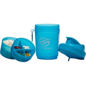 SMARTSHAKE SHKR, Neon Blue 590ml by Smart Shake