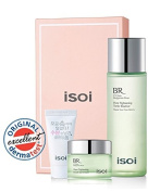 isoi Bulgarian Rose Pore Tightening Tonic Essence(Serum) - Special Package!! big size 260ml (8.79Oz) + pore gel cream 20ml & pore cleansing foam15ml