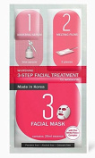 2 Mask sheets of Watsons 3-step Facial Treatment Whitening