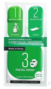 2 Mask sheets of Watsons Anti-spot & Sebum Control 3-step Facial Treatment Mask