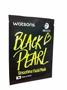 2 Mask sheets of Watsons Smoothing Facial Mask with Black Pearl. Which Help Promote Healthier, Smoother, and More Supple Skin.