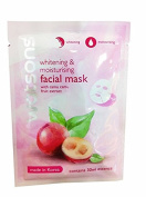 4 Mask Sheets of Watsons Whitening & Moisturising Facial Mask with Camu Camu Fruit Extract. Made in Korea.