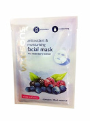 2 Mask sheets of Watsons Antioxidant & Moisturising Facial Mask with Mixed Berry Extract. Made in Korea.