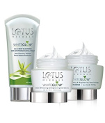 Lotus Herbals Whiteglow Day and Night Pack- 220g SD - With Complementary Gifts!!