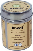 KHADI - Herbal Mask Orange for face and body - For Combination Skin, Cellulite & Bloating