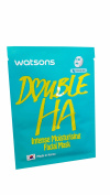 4 Mask Sheets of Watsons Intense Moisturising Facial Mask with Double HA. Which help replenish moisture while soothing fine lines.