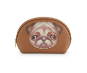 Love Moschino I Love Puppy Cosmetic Case, Pug