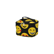 Emoji Faces Print NGIL Cosmetic Case