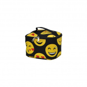 Emoji Faces Print NGIL Cosmetic Case