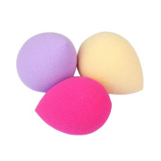 Makeup Puff,Neartime 3PCS Pro Beauty Flawless Foundation Puff Water Droplets Sponges