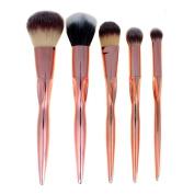 Brush,Lisingtool 5 Pcs Cosmetic Makeup Brush Eyeshadow Brush