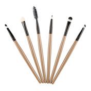 Brush,Lisingtool 6 Pcs Cosmetic Makeup Brush Eyeshadow Brush